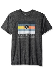 Rip Curl Men's MF React Mock Twist Tee Black M