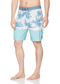 Rip Curl Men's Mirage Flyin Hawaiin Boardshort Blue (BLU)