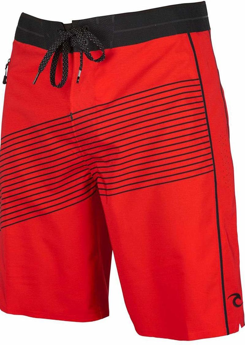 Rip Curl Men's Mirage Mick Fanning Invert Ultimate Boardshorts red