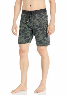 Rip Curl Men's Mirage Midnight Ultimate Stretch Board Shorts camo