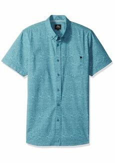Rip Curl Men's Modem S/S Shirt Aqua L