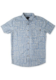 Rip Curl Men's Motion Print Short Sleeve Shirt