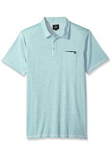 Rip Curl Men's New Age Vapor Cool Polo Aqua (AQU)