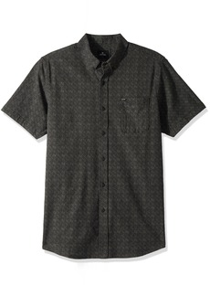Rip Curl Men's Northern Ss Shirt Charcoal (CHA) S