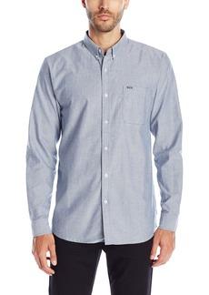Rip Curl Men's Ourtime Long Sleeve Shirt  Medium