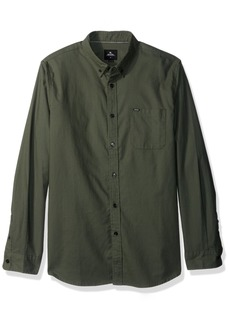 Rip Curl Men's Ourtime L/s Shirt Green S