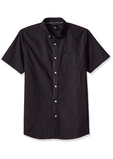 Rip Curl Men's Ourtime S/S Shirt Charcoal S
