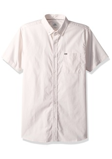 Rip Curl Men's Ourtime Ss Shirt Pink (PNK) 2XL