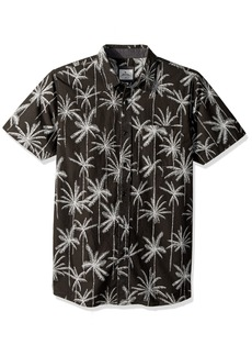 Rip Curl Men's Palm Trip Ss Shirt Black (BLK) L