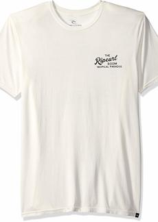 Rip Curl Men's Paradise Room Heritage Tee White 2XL