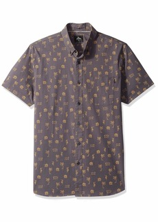 Rip Curl Men's Parker S/S Shirt Charcoal L