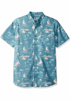 Rip Curl Men's Parker S/S Shirt Tapestry/tap L