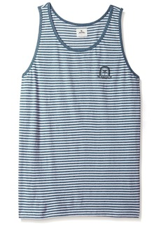 Rip Curl Men's Parkview Tank Blue M