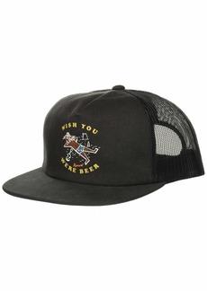 Rip Curl Men's Patch Trucker Mesh Hat SPF Charcoal 1SZ