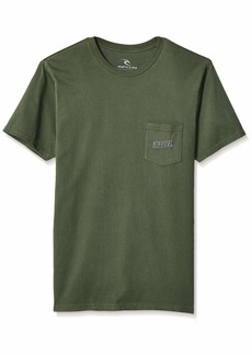 Rip Curl Men's Racer Standard Issue Tee  M