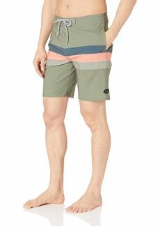 Rip Curl Men's Rapture Layday Side Pocket Boardshorts Green k