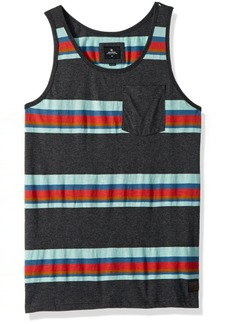 Rip Curl Men's Rapture Tank Charcoal L