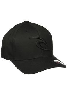 Rip Curl Men's Rc Icon Flexfit Hat Black