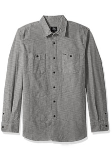 Rip Curl Men's Refugio S/s Shirt  Grey M