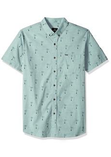 Rip Curl Men's Riviera SS Shirt Aqua XL