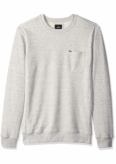 Rip Curl Men's Salton Crew Fleece White L