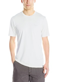 Rip Curl Men's Search Series Short Sleeve Rashguard Tee  S