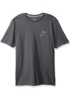 Rip Curl Men's Shady Palms Classic Tee Charcoal S