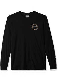 Rip Curl Men's Shady Palms Heritage Long Sleeve Tee  2XL