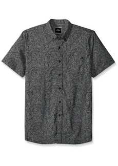 Rip Curl Men's Spin Out SS Shirt Black M
