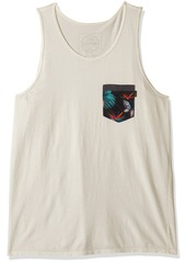 Rip Curl Men's Staple Pkt Custom Tank  2XL