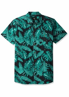 Rip Curl Men's Stassi S/S Shirt Black L
