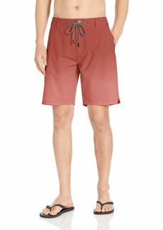 Rip Curl Men's Sun Drenched Boardwalk Hybrid Board Shorts red