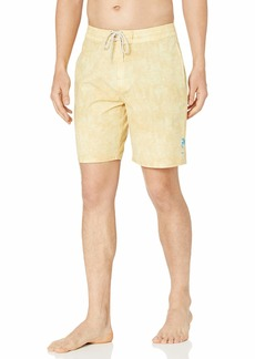 "Rip Curl Men's Sun Drenched Layday 19"" Side Pocket Boardshort Swim Trunks"