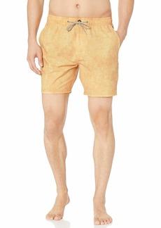 Rip Curl Men's SUNBLEACH Volley Side Pocket Boardshorts  S
