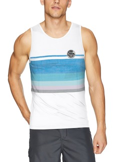 Rip Curl Men's Surf Craft Tank Top Rashguard  S