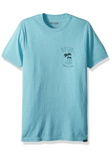 Rip Curl Men's Authenticated Chest Graphic Tee Shirt