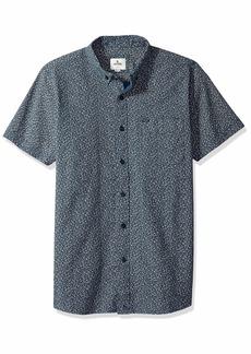 Rip Curl Men's Twenty Two S/S Shirt Navy M