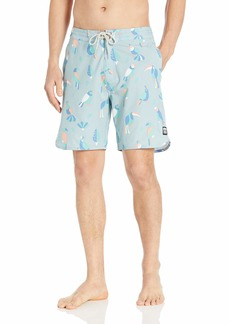 """Rip Curl Men's Two Cans Layday 19"""" Side Pocket Boardshort Swim Shorts"""