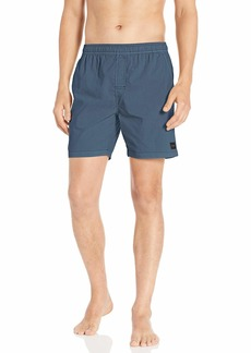 """Rip Curl Men's Washed Out Volley 17"""" Side Pocket Elastic Board Shorts  M"""