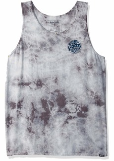 Rip Curl Men's Windswell Heritage Custom Tank Grey XL