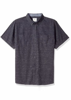 Rip Curl Men's Zane S/S Shirt Blue L