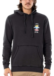 Rip Curl Search Logo Longline Hooded Sweatshirt
