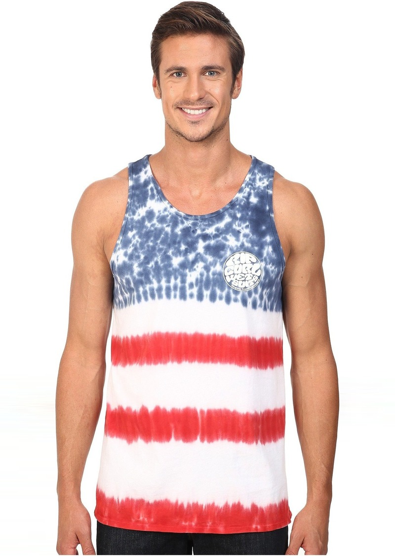 Rip Curl Stars and Stripes Custom Tee