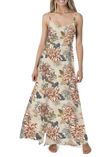Rip Curl Sunsetters Floral Print Maxi Dress