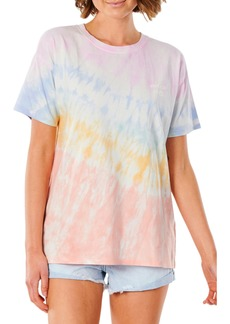 Rip Curl Wipe Out Oversize Tie Dye T-Shirt