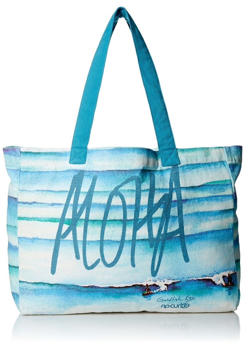 Rip Curl Women's Aloha Fins by Gfk Tote Blue