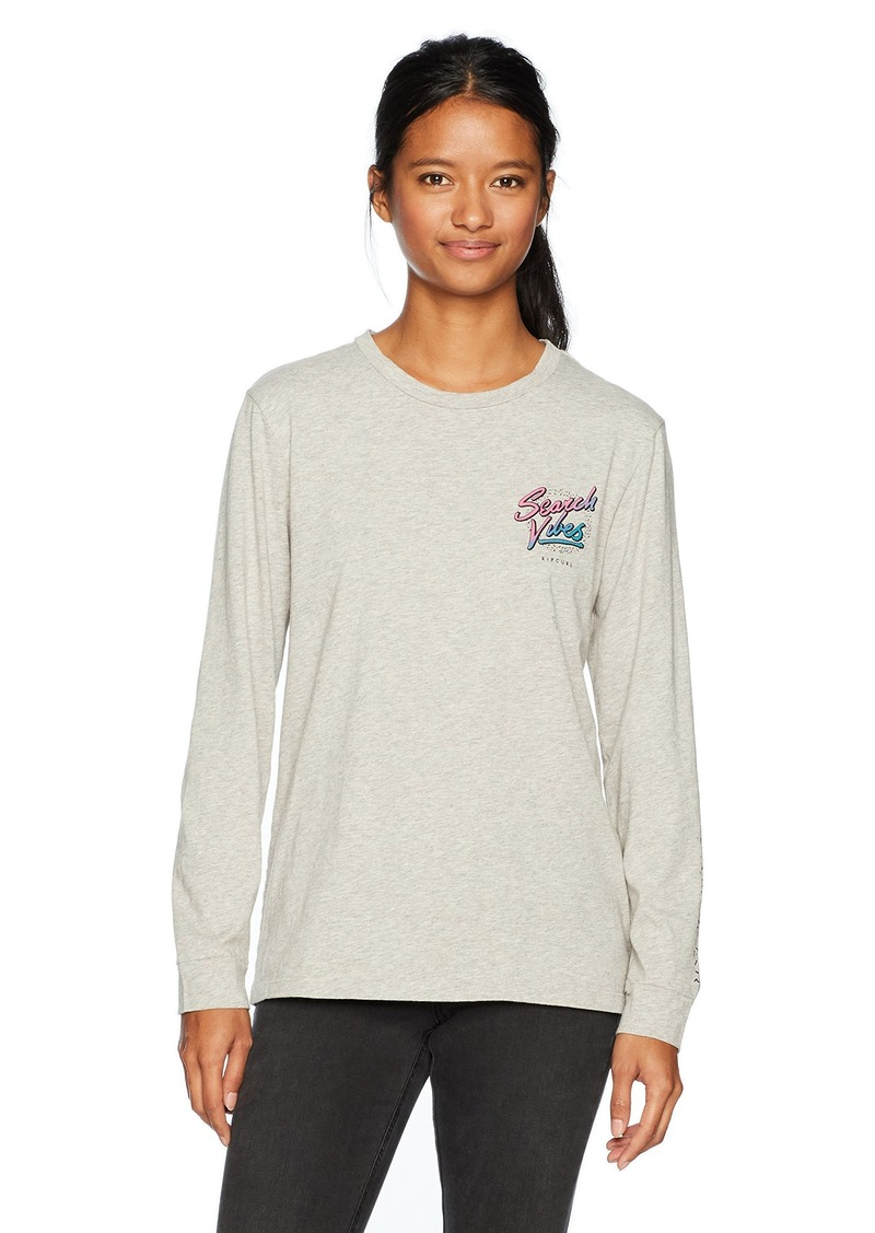 Rip Curl Women's Search Vibes Long Sleeve Tee  L
