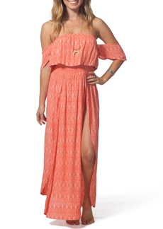 Rip Curl Saltwater Off-the-Shoulder Maxi Dress
