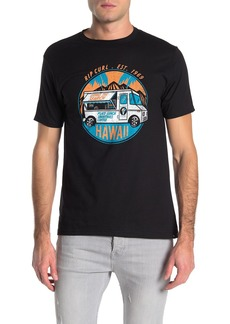Rip Curl Shave Ice Truck Graphic Logo T-Shirt