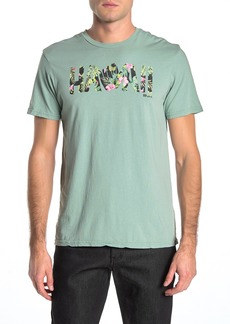 Rip Curl State Greetings Hawaii Graphic T-Shirt